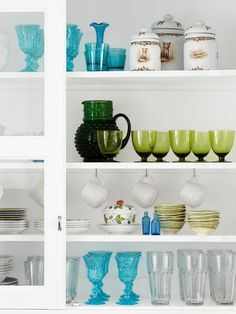 Dishes on Display. Gorgeous! http://www.hgtv.com/kitchens/expert-kitchen-design/pictures/page-14.html?soc=pinterest