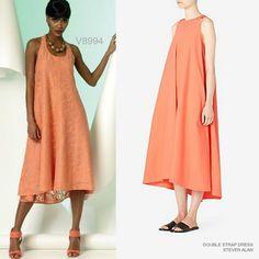 Resort-ready trapeze dress sewing pattern. Vogue Patterns V8994.