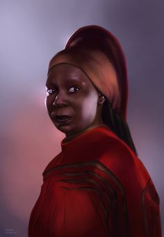 star trek character art | Star Trek: Guinan by Spiritius