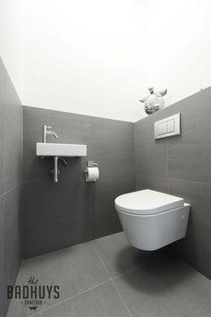 Modern toilet in grijs en wit | Het Badhuys Breda