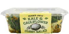 Kale & Cauliflower Curry Salad