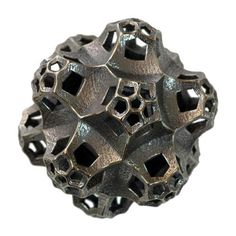 """Sculpture: Hyperbolic II  Material: Stainless Steel & Bronze  Size: 2"""" x 2""""  Weight: ~10 oz (~283 g)  Made in USA Price: $105.00"""