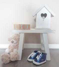 Gave naamblokken, super leuk als decoratie op de babykamer of als kraamcadeautje.