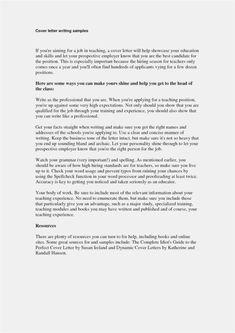 30 Cover Letter Samples Cover Letter Designs Pinterest Job