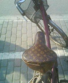 A Louis Vuitton bike in Shanghai?!