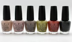OPI Germany - new autumn colours