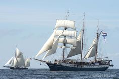 "Tall Ship ""Atlantis"" @ Hanse Sail Rostock."