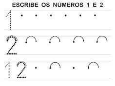 RECURSOS EDUCACIÓN INFANTIL: NÚMERO 2 Math Equations, Initials, Note Cards, Activities, Winter, Xmas