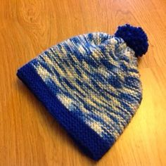 Keeping it Real: Easy Winter Hat - the boy version