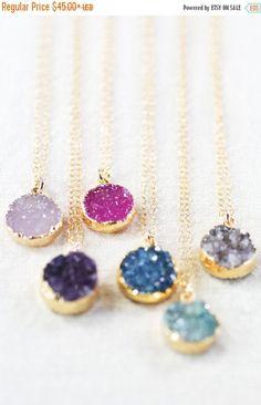 25% ON VACATION SALE Noelani necklace   gold by kealohajewelry