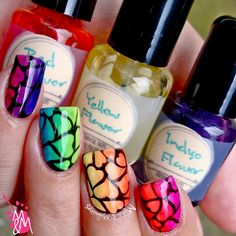 Manis & Makeovers: Love is Love - Rainbow Pride Nails for Orlando