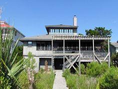 Edisto Realty - Dolphin Watch - Beach Front Home  New to the Rental Market on the St Helena Sound - Edisto Island, SC