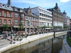Aarhus Denmark..loved the canals n bridges here