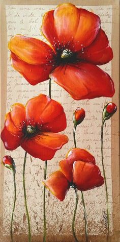 Arte Floral, Pictures To Paint, Painting Inspiration, Flower Art, Watercolor Paintings, Art Drawings, Art Projects, Canvas Art, Artwork