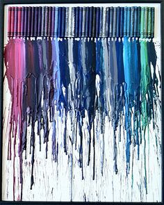 Melted Crayon Art by Jessie Kerbawy