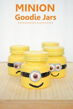 12 Despicable Me Minion Crafts and Party Ideas - bad paint job but cute idea.