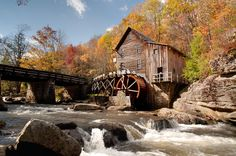 Glade Creek Mill in Babcock State  Park, WV
