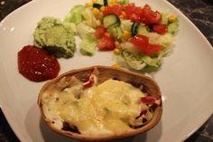 Matro: Gratinerade tacobåtar Guacamole, Tacos, Mexican, Ethnic Recipes, Food, Essen, Meals, Yemek, Mexicans