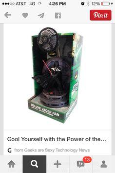 Darth Vader fan