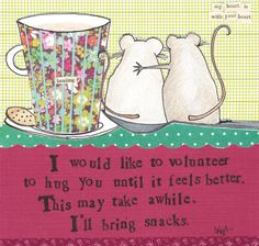 Curly Girl Design Greeting Card - Hug You - #inpcreative #curlygirl #greetingcards