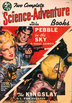 Science-Adventure Winter 1950