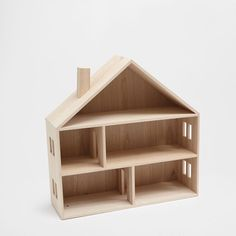 Image of the product LITTLE WOODEN DOLL HOUSE