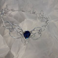 vivi added a photo of their purchase Compass Necklace, Sapphire Wedding, Circlet, Bridal Tiara, Wedding Hair Pieces, Tiaras And Crowns, Crystal Pendant, Metal Jewelry, Celtic