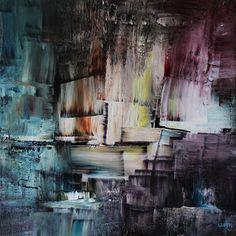 umj.art - Ulla Maria Johanson: 2018-03-05 #1211InstantAcrylic on board, 20x20 c...