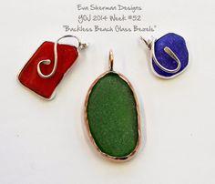 Backless Beach Glass - Eva Sherman Designs
