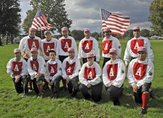 The Friends of Vintage Base Ball promotes living history by bringing the 19th century to life through base ball events that use the rules, equipment, costumes and culture of the 1860s–1880s. We provide cultural enrichment and education programs and activities to youth and adults that emphasize honor, team play, respectful conduct and community pride.