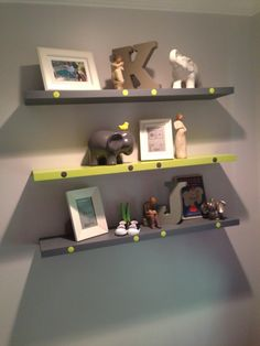 Project Nursery - Gray and Lime Green Nursery