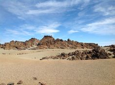 The Teide National Park on Canary Islands ~ This place was also used to test spatial equipment to find life on Mars.