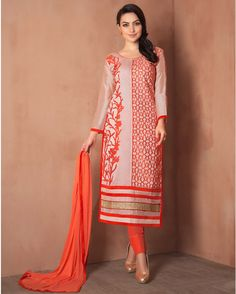 Beige   luxuriant Embroidered Chanderi Designer Salwar Suits for women(Semi Stitched)       Fabric:   Chanderi       Work:   Embroidered       Type:   Designer Salwar Suits   for women(Semi Stitched)       Color:   Beige                 Fabric Top