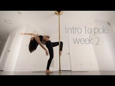 Week 2 | Beginner Pole Dance Sequence | Intro to Pole Series - YouTube