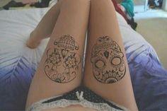 Inspiração: Tatuagens de caveira mexicana – OHKO