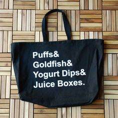 """""""Puffs"""" Tote Bag – WeeStructed"""