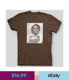 T-Shirts James Brown Mugshot Godfather Of Soul Motown Detroit Blues T-Shirt Sizes S-5X #ebay #Fashion