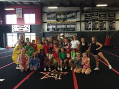 Halloween Cheer Practice Theme