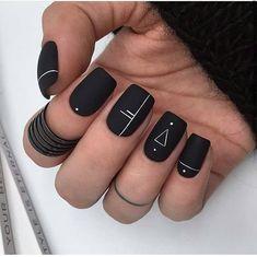 Manis That Will Make You Adore Squoval Nails – Nail Shapes Ideas - Nail art designs Acrylic Nails Coffin Short, Square Acrylic Nails, Cute Acrylic Nails, Coffin Nails, Squoval Acrylic Nails, Nail Shapes Squoval, Square Oval Nails, Short Square Nails, Gradient Nails