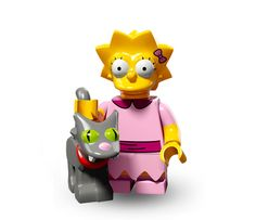 Lego SIMPSONS SERIE 2 : Lisa Simpson and SnowBall