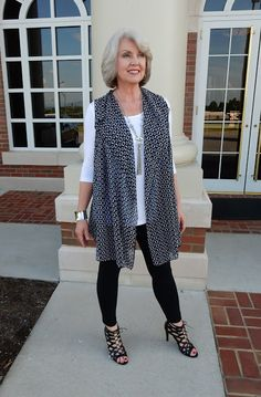Fifty, not Frumpy: Covered Perfectly Vest and Tunic