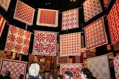 idea for Trini's quilt / Red & White