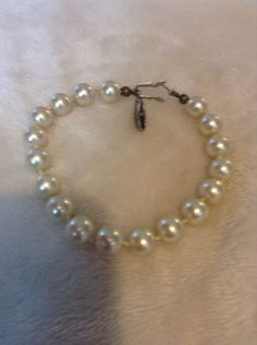 Vintage Pearl Bracelet #334