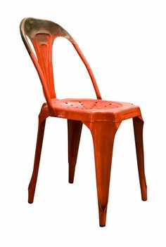 French Cafe Style Chair in Red : The Old Cinema – Antique Furniture, Vintage, Industrial, Danish, French