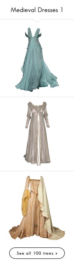 """Medieval Dresses 1"" by younglovesnightmare ❤ liked on Polyvore"