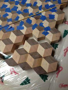 Tumbling Block. LumberJocks.com ~ woodworking community