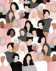 Women Who Draw - Women's March 2017 Illustration realisiert mit dem . - Women Who Draw – Women's March 2017 Illustration realisiert mit dem … – -