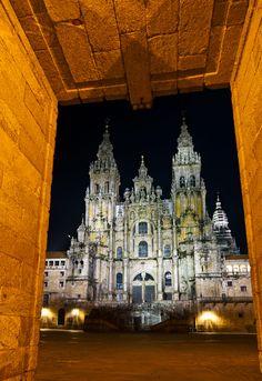 Catedral de Santiago by Víctor Reguera