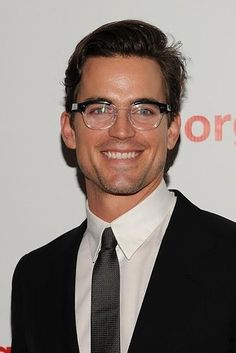 But he can also work a bookish and nerdy vibe.   A Gentle Reminder That Matt Bomer Can Get It