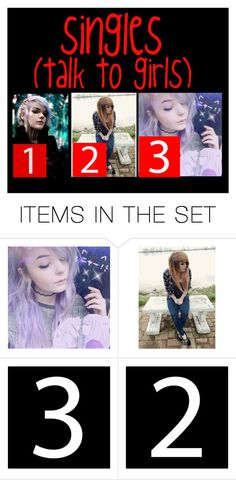 """Singles~"" by lovely-random ❤ liked on Polyvore featuring art"